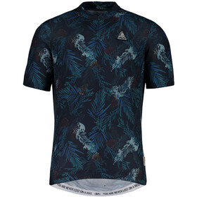 Maloja TaraspM. Shortsleeve Bike Jersey Herren mountain lake